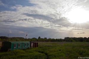 Soort woning dat ik tegenkwam wanneer ik van Tiraspol naar het dorp Chitcani wandelde
