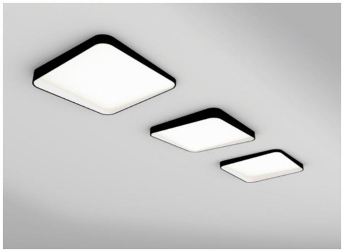 dark plafond lamp